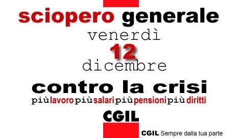 L'Italia si ferma contro la crisi. Un ossimoro